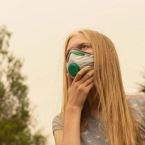 Le mascherine: l'accessorio giusto per proteggersi dal contagio.