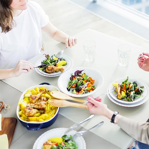 Alimentazione corretta e quarantena: mangiare bene in casa.