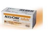 Accu-chek Softclix - Lancette Pungidito - 25 Pezzi
