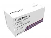Carnitene 1g L-carnitina 10 Compresse Masticabili