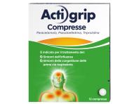 Actigrip 12 Compresse 2,5+60+500mg