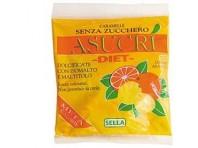 Asucri Caramella Arancia E Limone Senza Zucchero 40 G