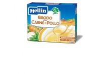 Mellin Brodo Con Carne E Pollo 50 G