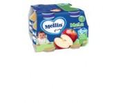 Mellin Nettare Mela Succo Di Frutta 4 X 125 Ml