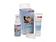 Candioli Dentalpet Kit Igiene Orale Cani E Gatti Dentifricio+spray+ditale