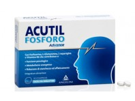 Acutil Fosforo Advance - Integratore Per Memoria E Concentrazione - 50 Compresse