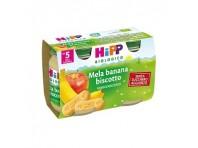 Hipp Bio Merenda Mela Banana E Biscotto 2 X 125 G