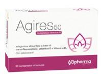 Ag-res 50 Integratore Menopausa 30 Compresse Orosolubili
