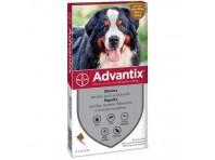 Advantix Spot On 4 Pipette Monodose Per Cani Oltre I 40 Kg Fino Ai 60 Kg 40-60
