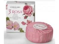 L'erbolario 3 Rosa Sapone Profumato 100g