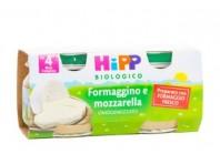 Hipp Bilogico Omogeneizzato Formaggino E Mazzarella 2x80 G