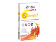 Apropos Vita+ D-omega3 30 Gelatine Masticabili Gusto Arancia-limone