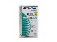 Accu-chek Active Strisce Reattive Glicemia 25 Pezzi