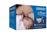 Omron Duobaby Nebulizzatore A Compressione Con Aspiratore Nasale
