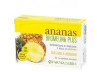 Ananas Bromelina Plus Drenante Cellulite, Microcircolo, Digestione 30 Compresse