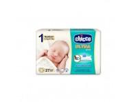 Chicco Pannolino Ultra 1 Newborn 2-5 Kg 27 Pezzi
