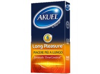 Akuel Preservativi Ritardanti Long Pleasure 6 Pezzi