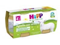 Hipp Biologico Omogeneizzato Agnello E Verdure 2x80g