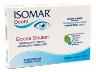 Isomar Occhi - Gocce Oculari Monodose - 10 Flaconcini