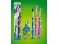 Gum Junior 7-9 Anni Spazzolino Bambini Colori Assortiti