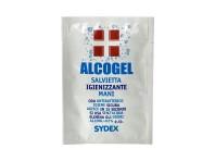 Alcogel Salviettina Igienizzante Mani Monouso 10 Pezzi