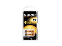 Duracell Easytab 13 Arancio Batterie Apparecchio Acustico 6 Batterie