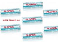 Algasiv Sensitive Crema Adesiva Per Dentiera 40 G Promo Pack 9+1