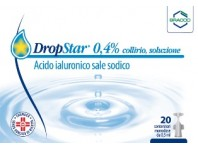Dropstar Collirio Acido Ialuronico 20 Flaconcini 0,5 Ml