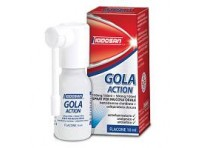 Iodosan Gola Action 0,15% + 0,5% Spray Per Mucosa Orale 10 ml