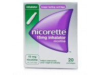 Nicorette Inhaler Inalatore 15 Mg Nicotina 20 Flaconcini Monodose