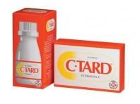 C-Tard 500 mg Vitamina C 60 Capsule Rilascio Prolungato