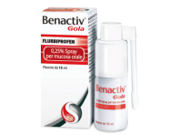 Benactiv Gola Spray - 2,5 mg/ml Flurbiprofene 15 mL