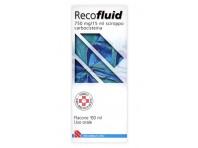 Recofluid 750mg/15ml Carbocisteina Sciroppo Mucolitico 150 Ml