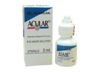 Acular 0,5% P/v Ketorolac Soluzione Oftalmica 5 Ml
