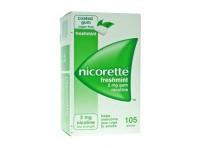 Nicorette Gomme 2 Mg Nicotina Menta 105 Gomme Masticabili