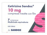 Cetirizina Sandoz 10 Mg - 7 Compresse Rivestite