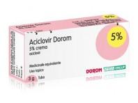Aciclovir Dorom 5% Crema 3g