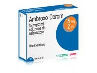 Ambroxol Dorom 15 Mg/2 Ml Soluzione Da Nebulizzare 10 Fiale 2 Ml