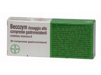 Becozym Dosaggio Alto Vitamina B 20 Compresse Gastroresistenti
