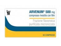 Arvenum 500 - Vasoprotettore - 60 Compresse Rivestite
