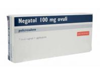 Negatol 100 Mg Ovuli Vaginali Policresulene Antisettico 7 Ovuli Con Applicatore