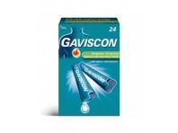 Gaviscon - Antiacido Aroma Menta - 24 Bustine - 500 Mg + 267 Mg Di Sodio Alginato