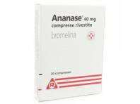 Ananase 40 Mg Bromelina Artrite 20 Compresse Rivestite