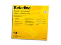 Betadine 10% - 10 Garze Impregnate 10x10