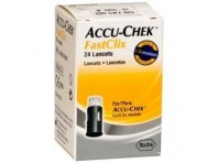 Accu-Chek Fastclix Lancette Pungidito - 24 Pezzi