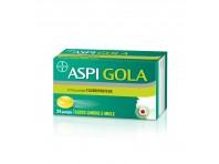 Aspi Gola - Pastiglie Gusto Limone E Miele Con 8,75 Mg Di Flurbiprofene - 24 Pastiglie