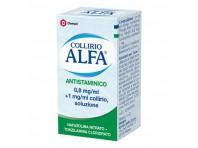 Collirio Alfa - Antistaminico - 0,8 Mg/ml + 1 Mg/ml Di Collirio, Soluzione - Flacone Da 10 Ml