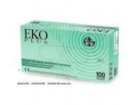 EKO PLUS GUANTI IN LATTICE non sterili ad alta protezione 100pz TAGLIA S