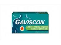Gaviscon - 48 Compresse Masticabili - Aroma Menta - 250 Mg + 133,5 Mg Di Sodio Alginato