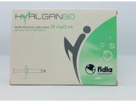 Hyalganbio - Siringa Intra-articolare A Base Di Acido Ialuronico - 20 Mg - 2 Ml